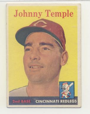 1958 Topps #205 Johnny Temple