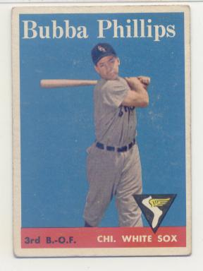 1958 Topps #212 Bubba Phillips
