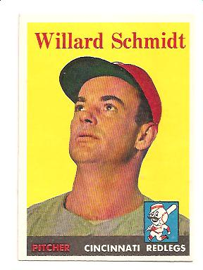 1958 Topps #214 Willard Schmidt