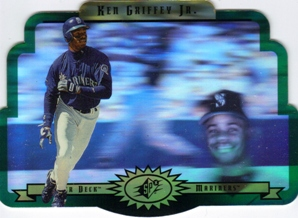 1996 SPx Gold #55 Ken Griffey Jr.