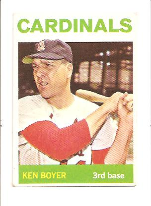 1964 Topps #160 Ken Boyer