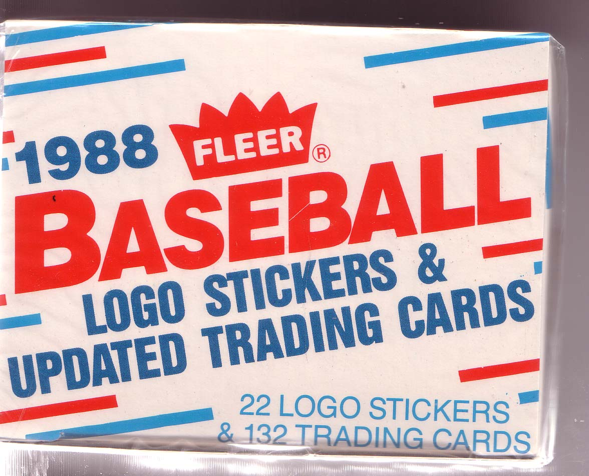 1988 FLEER UPDATE BASEBALL COMPLETE FACTORY SEALED SET