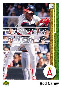 2007 Upper Deck 1989 Reprints #CA Rod Carew