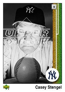 2007 Upper Deck 1989 Reprints #CS Casey Stengel front image