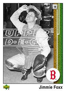2007 Upper Deck 1989 Reprints #JF Jimmie Foxx