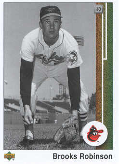 2007 Upper Deck 1989 Reprints #RO Brooks Robinson