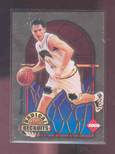 1996 Collector's Edge Radical Recruits Gold #14 Steve Nash