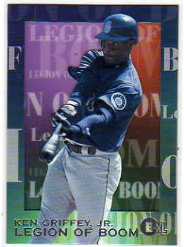 1996 Emotion-XL Legion of Boom #4 Ken Griffey Jr.