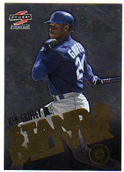 1997 Score Stand and Deliver #5 Ken Griffey Jr.