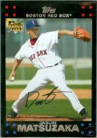 2007 Red Sox Topps #BOS1 Daisuke Matsuzaka front image