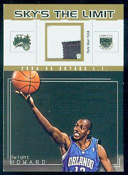 2004-05 SkyBox LE Sky's the Limit Patches #DH Dwight Howard