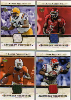 2005 Upper Deck Rookie Debut Saturday Swatches Limited #SARP Roscoe Parrish