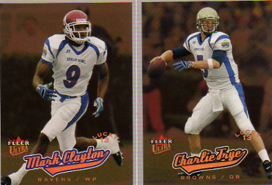 2005 Ultra #208 Mark Clayton L13 RC