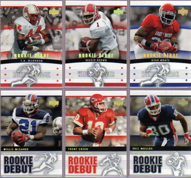 2005 Upper Deck Rookie Debut Gold Spectrum #12 Eric Moulds