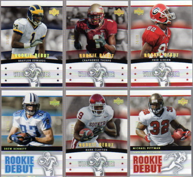 2005 Upper Deck Rookie Debut Gold Spectrum #115 Mark Clayton