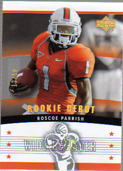 2005 Upper Deck Rookie Debut Gold Spectrum #136 Roscoe Parrish