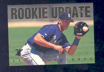 1995 Fleer Update Rookie Update #9 Alex Rodriguez