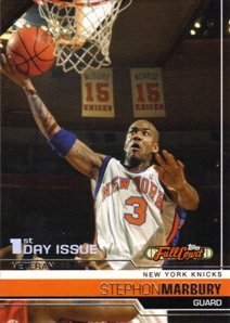 2006-07 Topps Full Court First Day Issue #64 Stephon Marbury