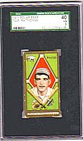 1911 T205 Gold Border #190 Ira Thomas