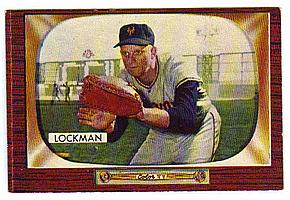 1955 Bowman #219 Whitey Lockman front image