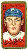 1911 T205 Gold Border #16 George Bell