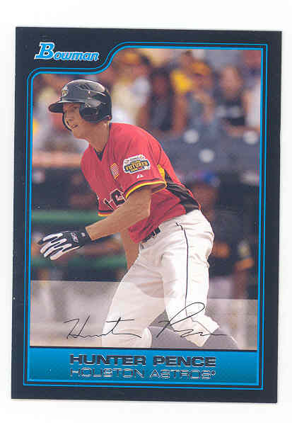 2006 Bowman Draft Future's Game Prospects #18 Hunter Pence