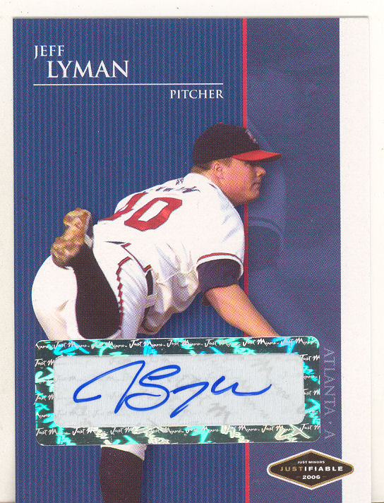 2006 Justifiable Autographs #24 Jeff Lyman/775*