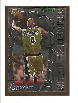 1996-97 Finest #74 Kobe Bryant B RC