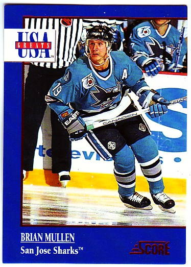 1992-93 Score USA Greats #12 Brian Mullen