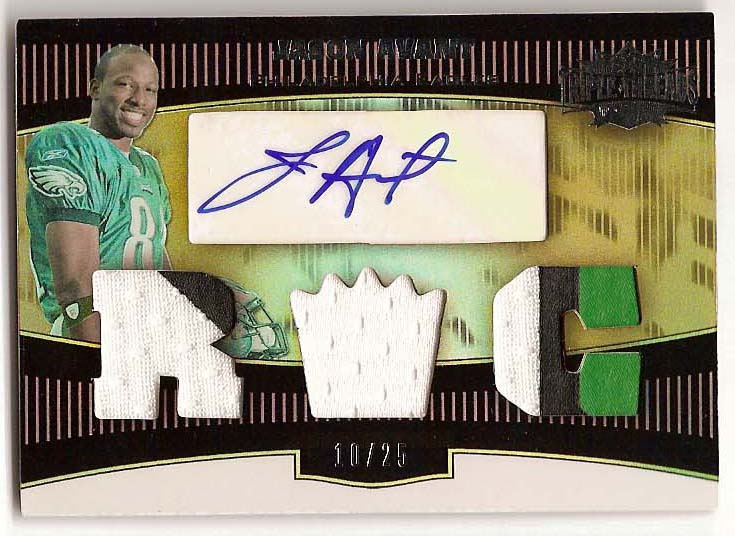 2006 Topps Triple Threads Gold #120 Jason Avant JSY AU
