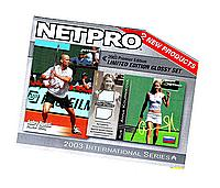 2003 NetPro Tennis Premier Edition GLOSSY set (85 CARDSwithout bonus card)