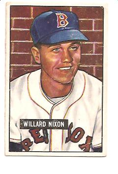 1951 Bowman #270 Willard Nixon RC
