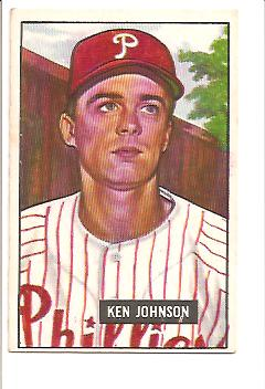 1951 Bowman #293 Ken Johnson RC