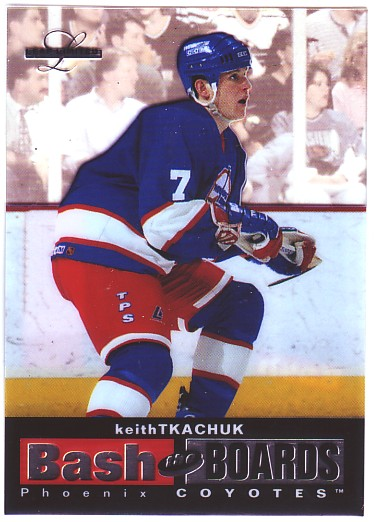 1996-97 Leaf Limited Bash The Boards #5 Keith Tkachuk