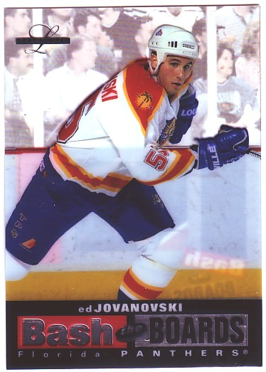 1996-97 Leaf Limited Bash The Boards #7 Ed Jovanovski