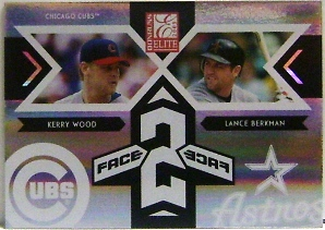 2005 Donruss Elite Face 2 Face #11 K.Wood/L.Berkman