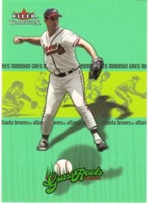 2002 Fleer Tradition Grass Roots #4 Greg Maddux