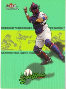 2002 Fleer Tradition Grass Roots #5 Ivan Rodriguez