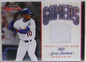 2002 Donruss Originals Gamers #19 Gary Sheffield/500