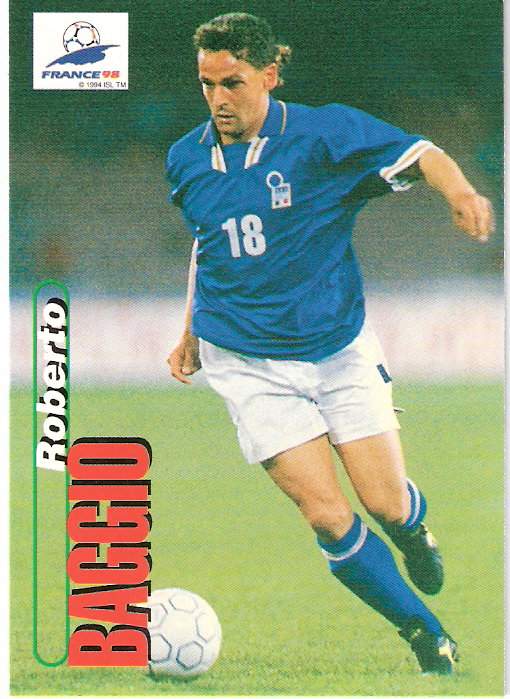 1998 Panini World Cup #99 Christian Vieri (Italy)