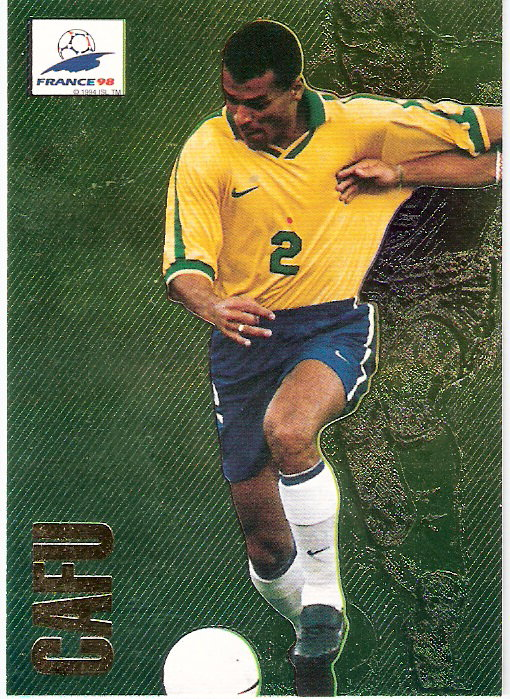1998 Panini World Cup #75 Oliver Bierhoff FOIL (Germany)