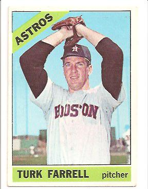 1966 Topps #377 Turk Farrell