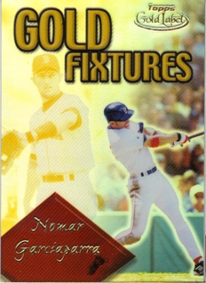 2001 Topps Gold Label Gold Fixtures #GF4 Nomar Garciaparra