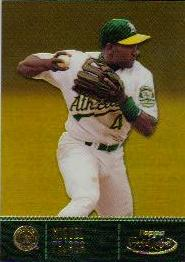 2001 Topps Gold Label Class 1 Gold #74 Miguel Tejada