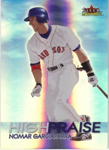 2000 Fleer Mystique High Praise #HP7 Nomar Garciaparra