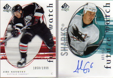 2005-06 SP Authentic #183 Josh Gorges AU RC