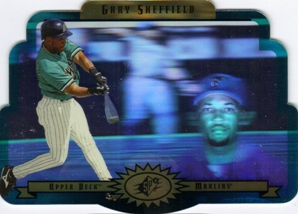 1996 SPx Gold #27 Gary Sheffield