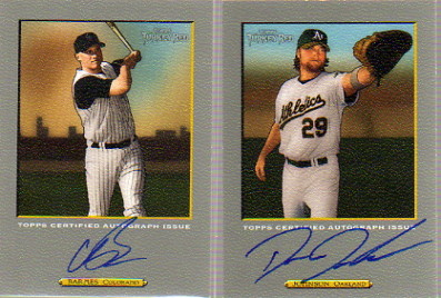 2006 Topps Turkey Red Autographs #DJ Dan Johnson B