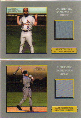 2006 Topps Turkey Red Relics #AP Albert Pujols Jsy D