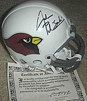 Jake Plummer autographed ( signed ) Arizona Cardinals mini-helmet